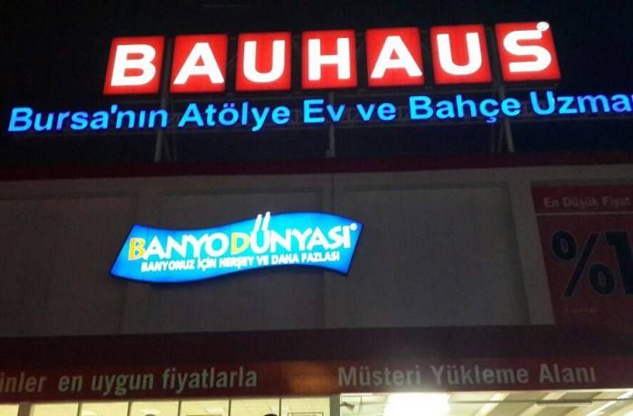 Bauhaus  Banyo Dünyası – Işıklı vinil