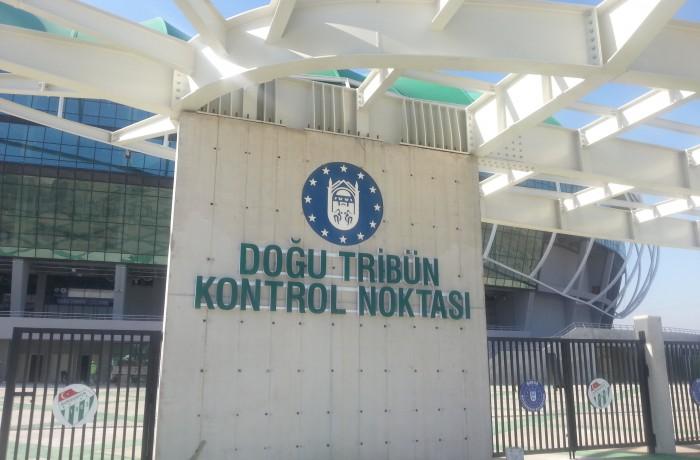 Timsah Arena Kontrol Noktaları