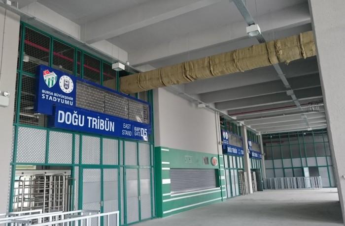 Timsah Arena Giriş Kapı Tabelaları