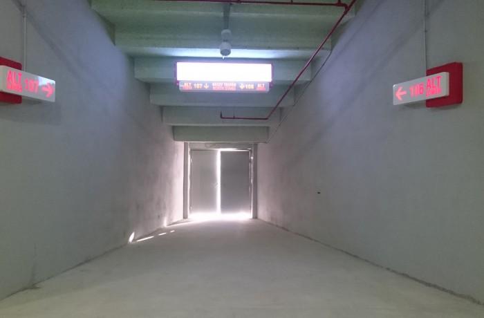 Timsah Arena iç Kapı Tabelaları