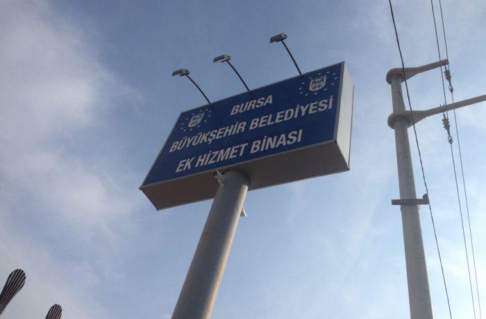 Bursa Büyükşehir Belediyesi Orhangazi şantiyesi