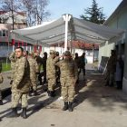 Bursa Büyükşehir Belediyesi Mafsallı Tente İmalat ve Montaj işi.