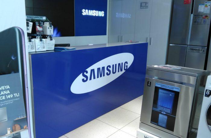 Samsung mağaza folyo uygulama