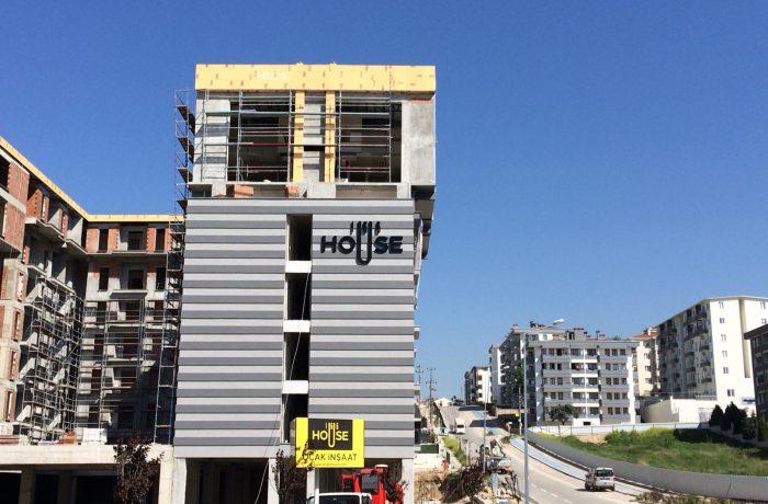 Ocak inşaat house 166