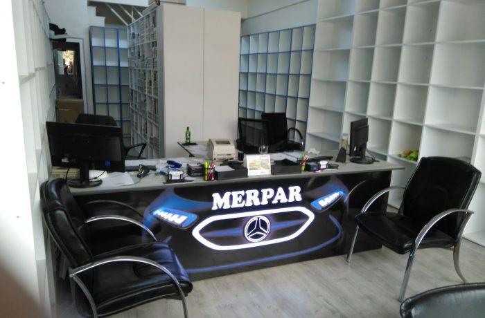 Merpar Mercedes servisi tabelası