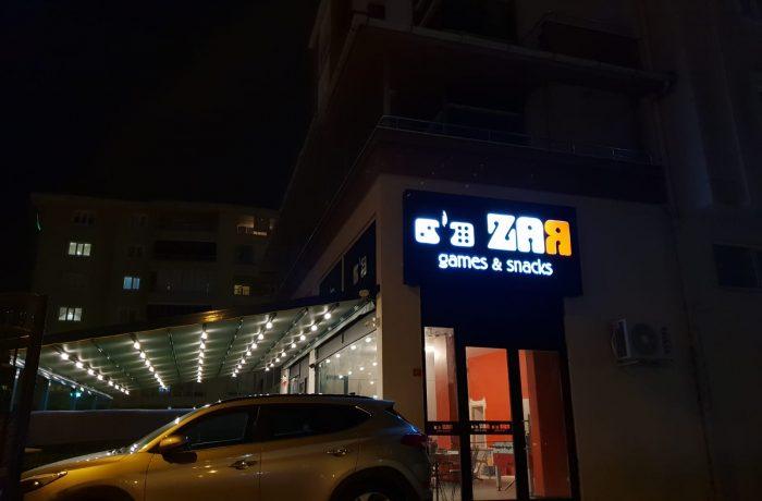 Özlüce Zar Cafe Tabela imalatı