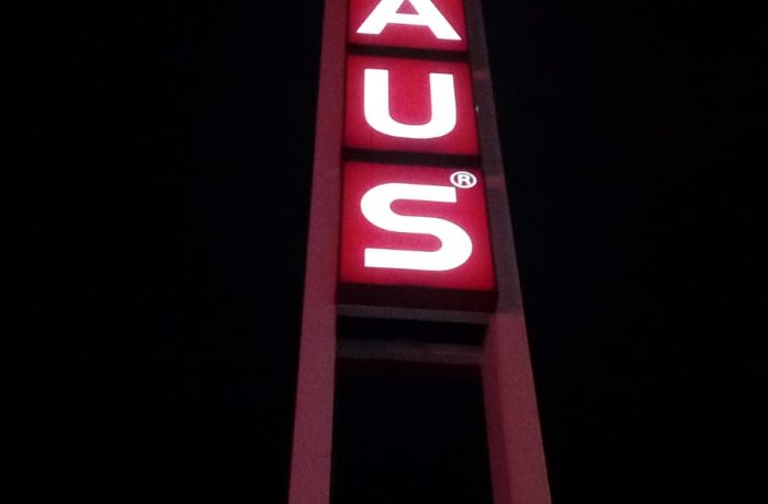 Bauhaus Totem led yenileme