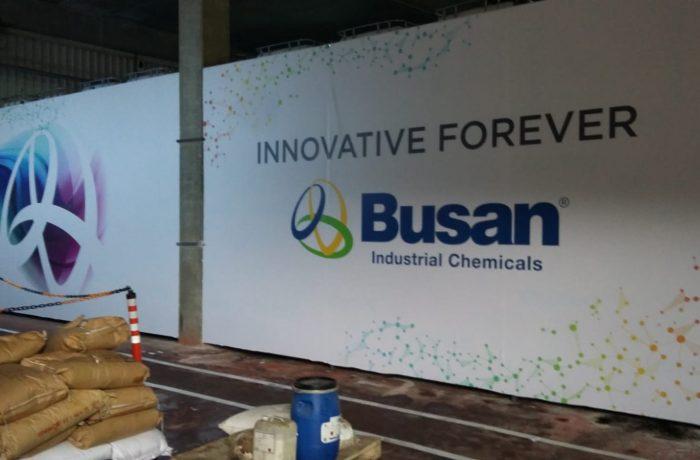 Busan Enerji Betopan üzeri dijital baskı