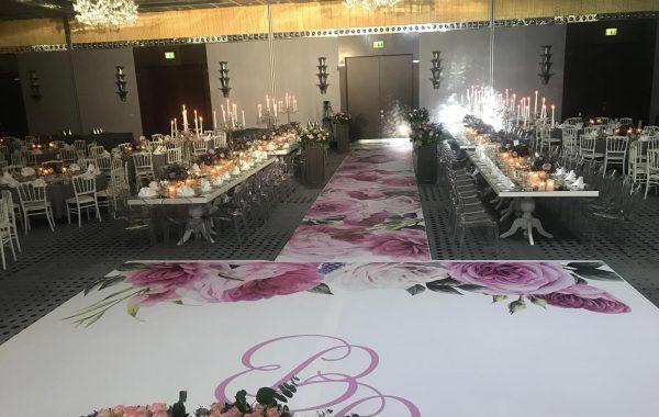 Düğün pisti kaplama