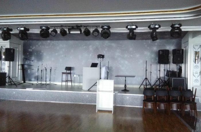 Deluxe düğün salonu için Barisol giydirme