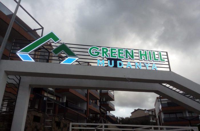 Green Hill Mudanya Kutu harf