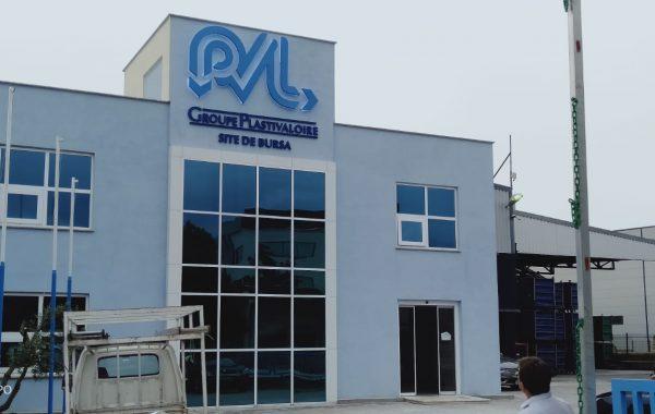 PVL fabrikası İç ve Dış Yönlendirme Tabelaları