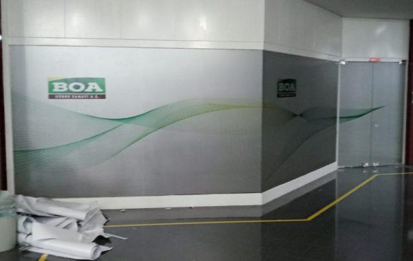 Busan Enerji folyo uygulama ve montajı işi