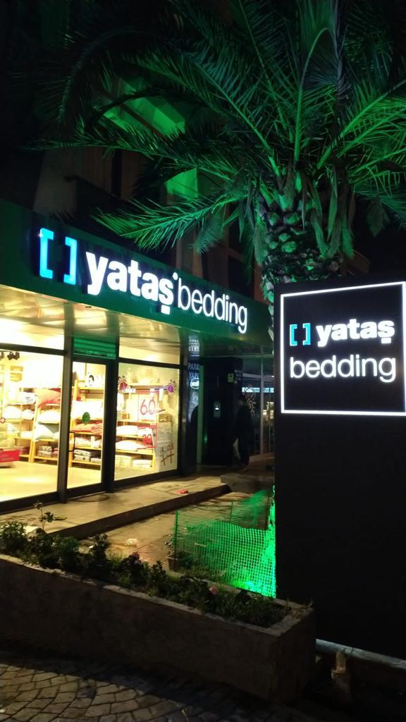 Yataş Bedding İstanbul Cephe Giydirme
