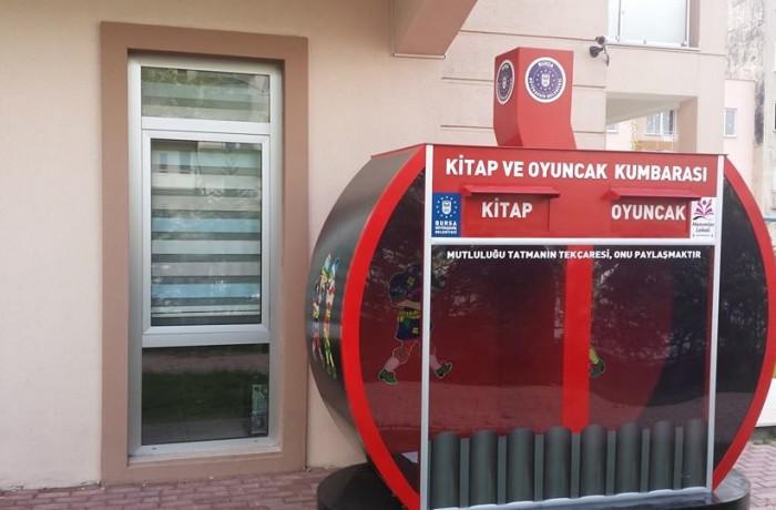Bursa Büyükşehir Belediyesi – Oyuncak Kumbarası