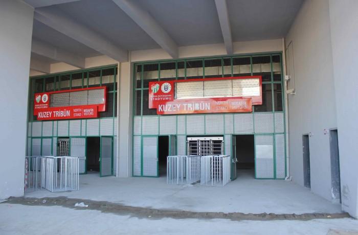Timsah Arena Giriş Kapıları