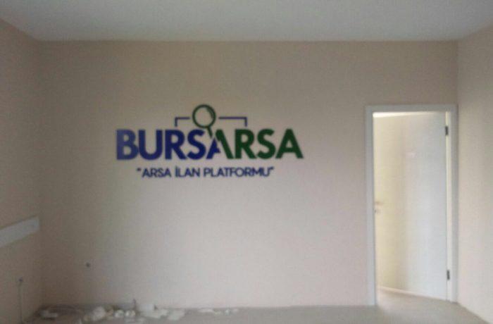 Bursa Arsa Foreks kesim harf tabela