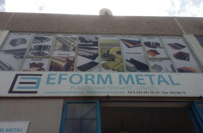 Eform metal için uygulanan owv