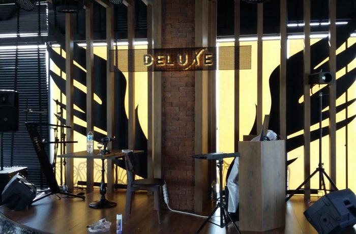 Deluxe salon dekorasyon