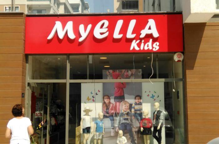 Myella kids tabela çalışması
