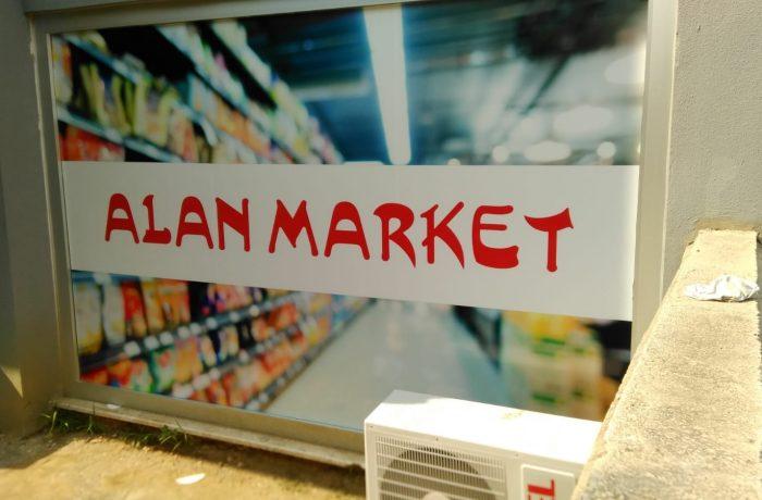 Alan market Folyo uygulama işi