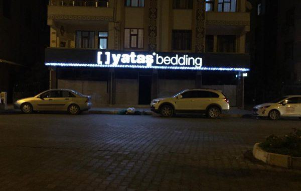 Yataş Iğdır Alüminyum Cephe ve ışıklı tabela