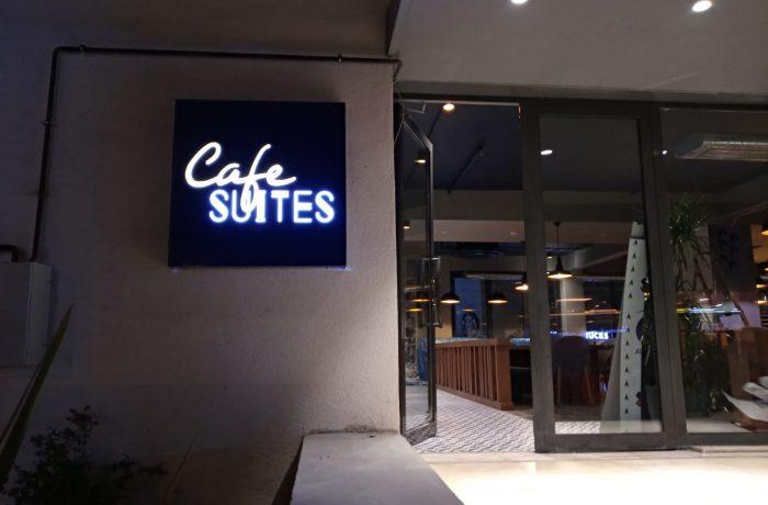 Trio Cafe suits tabelası imalatı
