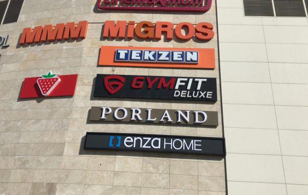 Yataş ankara Metro Mall Avm Tabelası